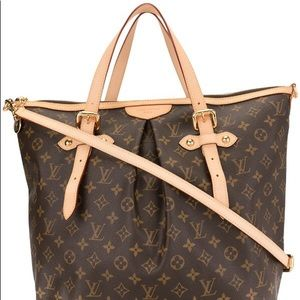 💯Authentic PALERMO GM ZIPPERED LOUIS VUITTON BAG